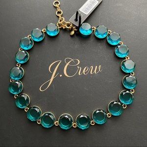 NWT J. Crew faceted stone necklace